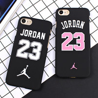 "Basketball Chicago Bulls No.23 Jordan PC Cover Case For iPhone 7 5 5s SE 6 6S 4.7"" 6 7 plus 5.5"" Jumpman Sports Phone Cases"