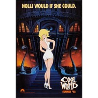 (24inx36in ) Cool World poster