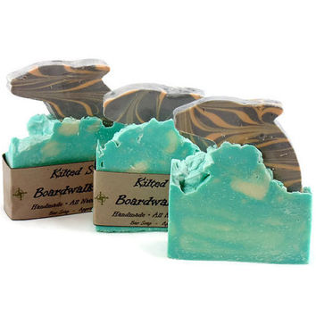 Boardwalk Bliss Bar Soap, Summer Soap, Dolphin Soap