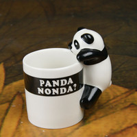 Lovely Panda Ceramic Mug Cup