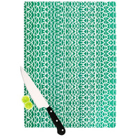 "Pom Graphic Design ""Tribal Forrest"" Cutting Board"
