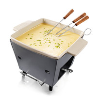 OUTDOOR FONDUE POT | french swiss cheese bread outside | UncommonGoods