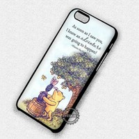 Winnie The Pooh Always Disney - iPhone 7 6 Plus 5c 5s SE Cases & Covers