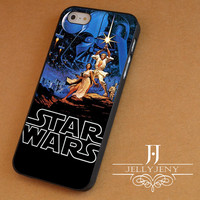Star wars classic iPhone 4 Case 5 Case 5c Case 6 Plus Case, Samsung Galaxy S3 S4 S5 Note 3 4 Case, iPod 4 5 Case, HtC One M7 M8 and Nexus Case