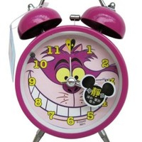 Purple Chesire Cat Alarm Clock - Alice in Wonderland Alarm Clock