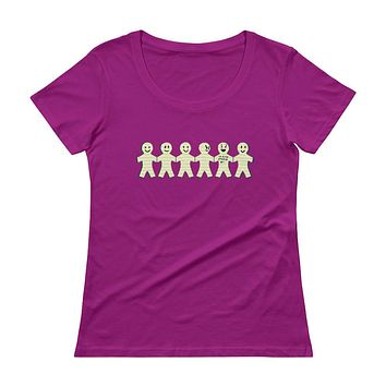 I'm with Stupid Ladies' Scoopneck T-Shirt