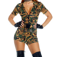 War Ready Female Soldier Costume