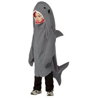 Shark Costume - Kids (Grey)