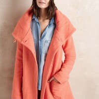 Boiled Wool Sweater Coat