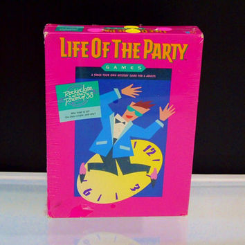 Adult Game Life of the Party Rockin' Late at Prom of '58 Milton Bradley 1987 New Sealed