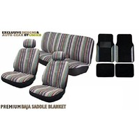 Baja Inca Seat Covers Pair Front Row Saddle Blanket For Toyota Camry