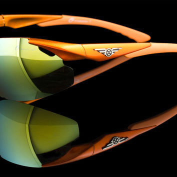 "Wraparound Sport Lightweight Sunglasses ""Oxigen"""