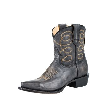 Stetson Abby Womens Cowboy Boots - Snip Toe