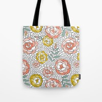Desert Blossom Tote Bag by Heather Dutton