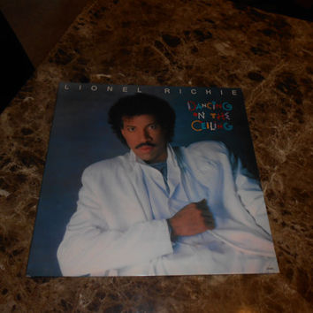 Vinyl Record Album Lionel Richie - Dancing On The Ceiling - Say You, Say Me - 1985 Vinyl