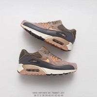 Nike Air Max 90 Leather   768887-201  Running  Sneaker