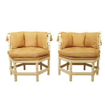Pre-owned Spanish Revival Chairs - A Pair