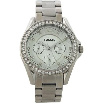 Fossil - ES3202P Riley Multifunction Stainless Steel Watch