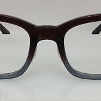 NEW AUTHENTIC RAYBAN RB 5267F COL 5055 BROWN GRADIENT PLASTIC EYEGLASSES FRAME S