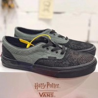 Trendsetter Vans X Harry Potter  Women Men Fashion Casual Low-Top Old Skool Shoes