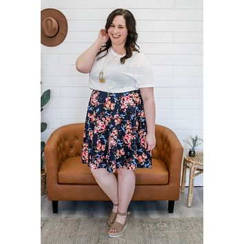 Floral Melody Skirt +