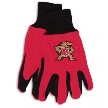 Maryland Terrapins - Adult Two-Tone Sport Utility Gloves