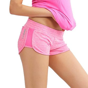Summer Women Shorts Sporting Low Waist Shorts For Women Fitness Exercise Bodybuilding Quick Dry Absorb Sweat Workout Shorts