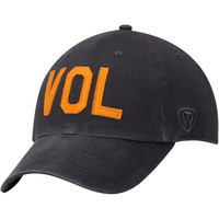 Men's Top of the World Gray Tennessee Volunteers District Unstructured Adjustable Hat