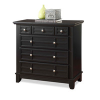 Home Styles Arts & Crafts Black Chest | Overstock.com