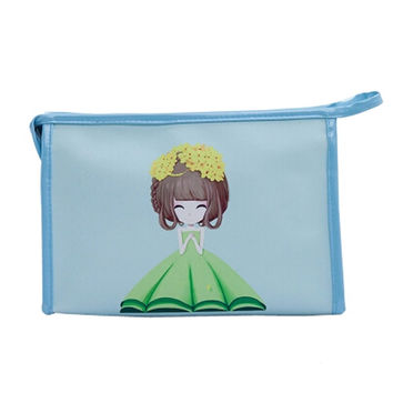 Personalized Handbag Makeup Pouches  Makeup Bags  Cosmetic Bags, Blue