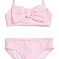 kate spade new york bow two-piece swimsuit (Toddler Girls & Little Girls) | Nordstrom