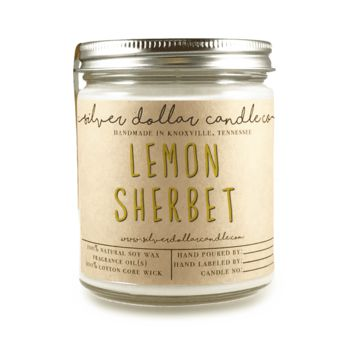 Lemon Sherbet - 8oz Soy Candle
