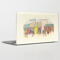 A Day at the Market Laptop & iPad Skin by Eric Fan