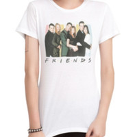 Friends Cast Logo Girls T-Shirt