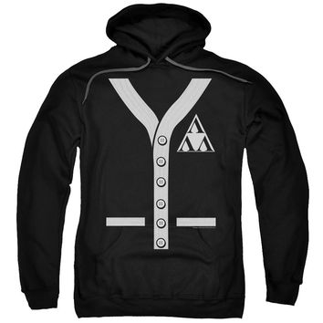 Revenge of the Nerds Tri Lambda Sweater Black Hooded Sweatshirt