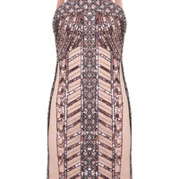 Linear Embellished Bodycon - View All - New In