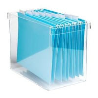 The Container Store > Acrylic Desktop File