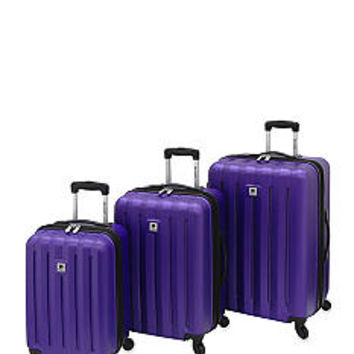 Leisure Eclipse 360 Hardside Luggage Collection - Purple - Belk.