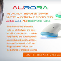 Sirius Aurora Light Therapy System | light therapy for aging, acne, and hyperpigmentation