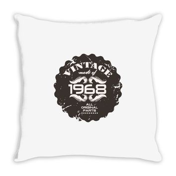 vintage made of 1968 all original parts Throw Pillow