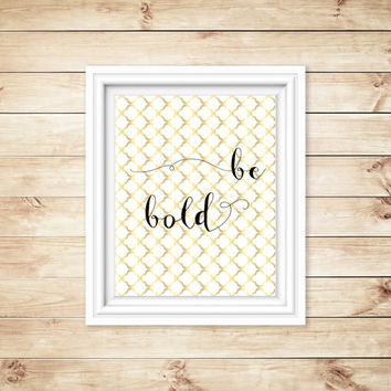 printable - quote - photo for frame - gold dots - classy - wall art - poster - 8x10 or smaller