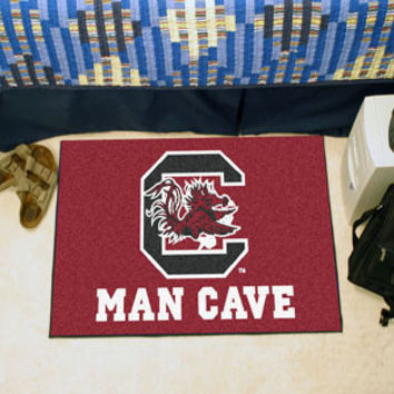 "University of South Carolina Man Cave Starter Rug 19""x30"""