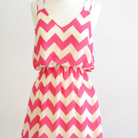 The Impeccable Pig - Forever Chevron Dress