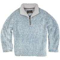 True Grit Frosty Tipped Pile ½ Zip Fleece Pullover