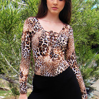 Leopardo Bodysuit