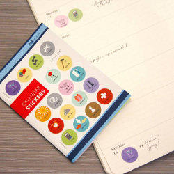 Calendar Stickers - See Jane Work