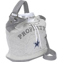 NFL Dallas Cowboys Hoodie Duffel (Grey)