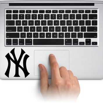 NY Yankees Logo Vinyl Decal Sticker for Laptop Mac Car Window Cup Water Bottle Yeti Tumbler  Truck Stickers Decal Made in US (Message for Color)