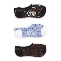Vans Hanneli Canoodle Socks 3 Pack (Frost Gray)
