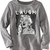 "Old Navy Marilyn Monroe""¢ Tee For Baby"